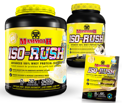 Whey Protein Isolate - IsoRush